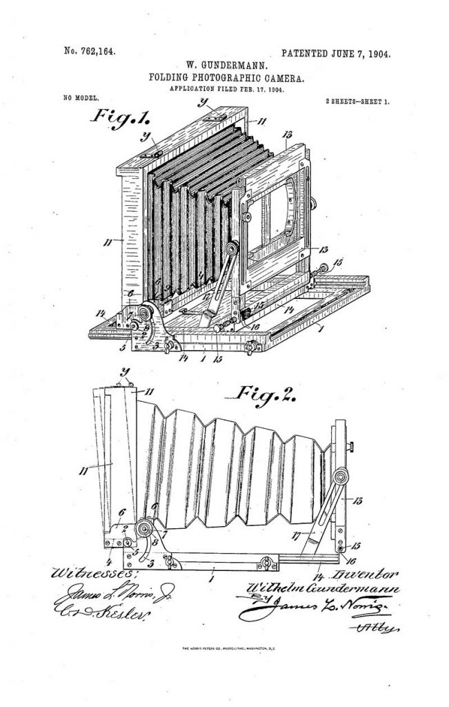 Box Camera Patent 1904