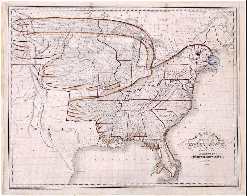 Eagle USA Map
