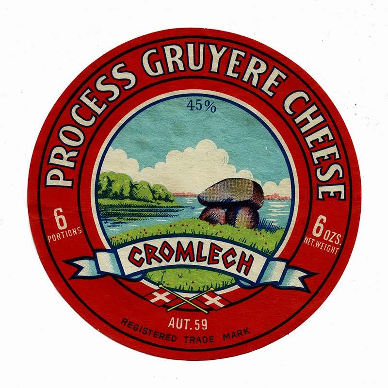 Process Gruyere Cheese Label