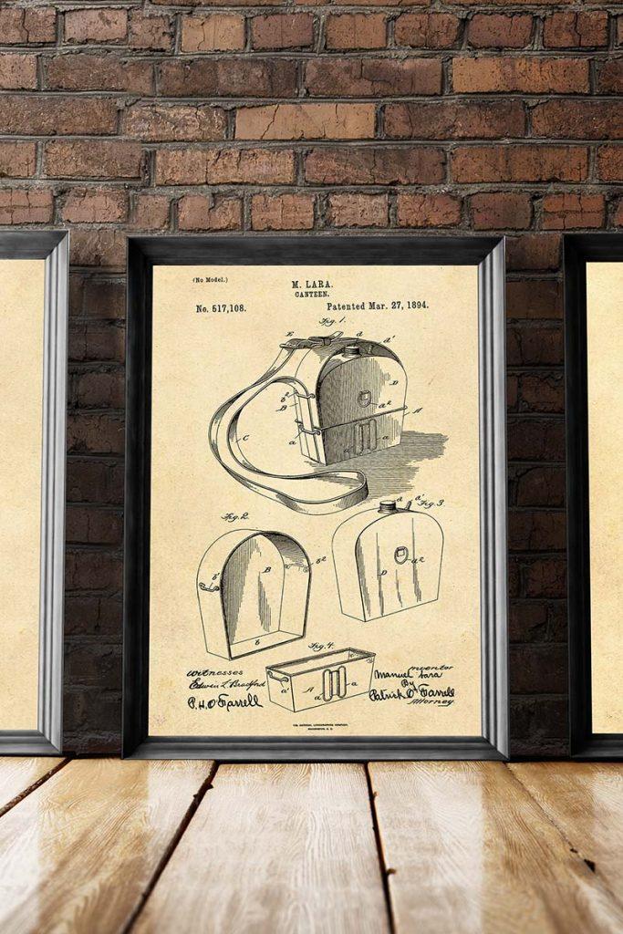 canteen patent illustration