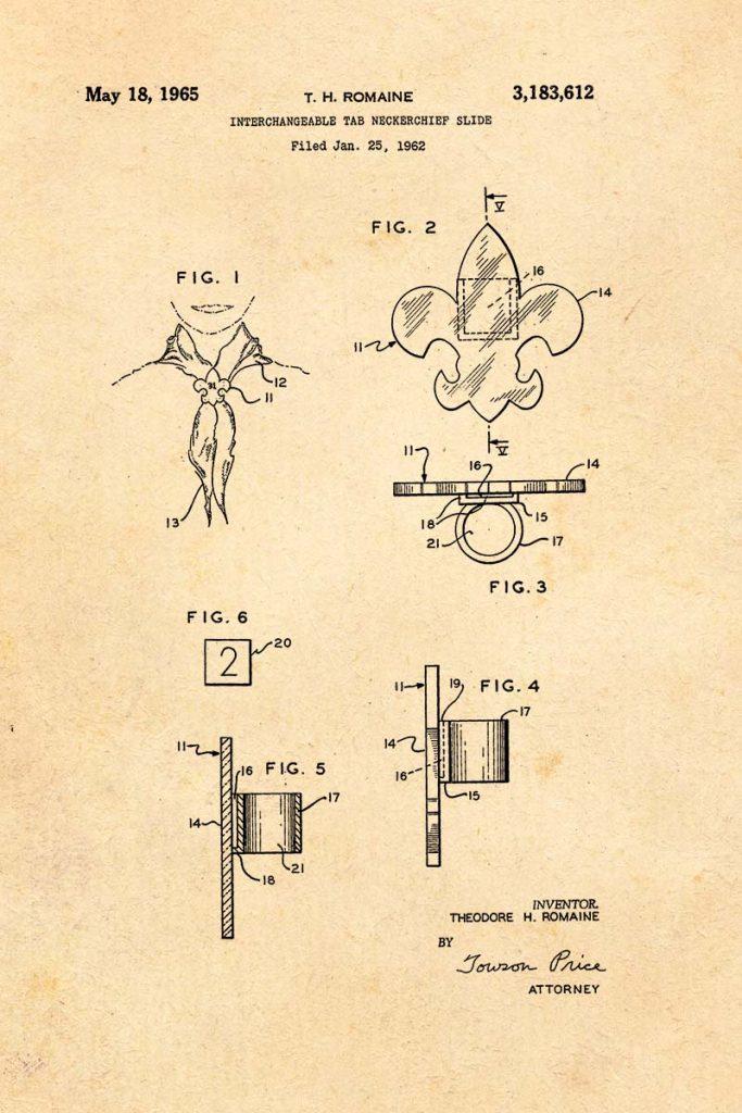 Woggle patent print