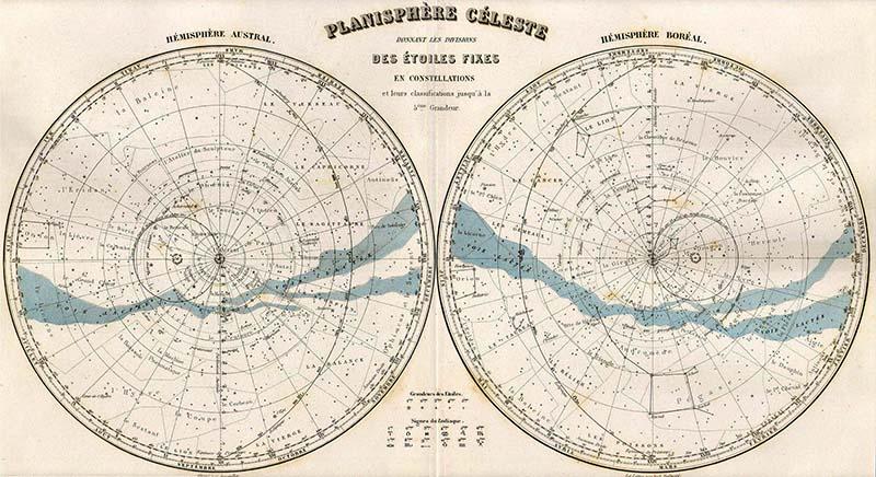 free Celestial map