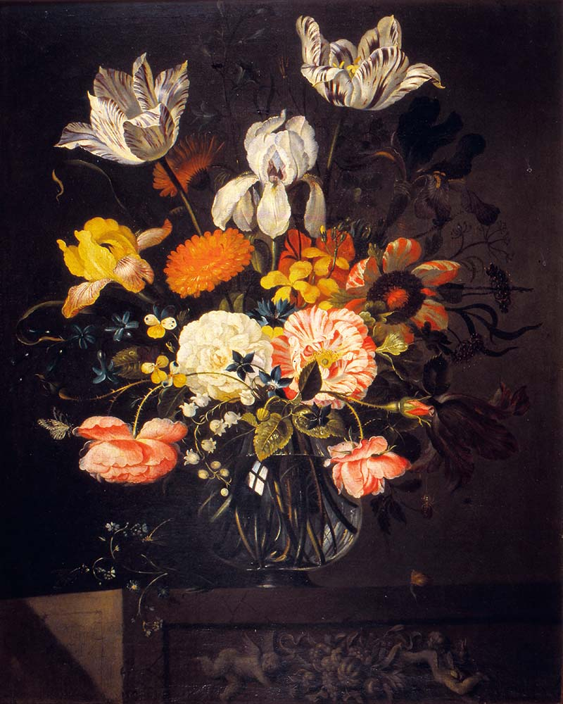 Jacob Marrel Still Life with Flowers