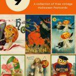 Free Halloween Postcards