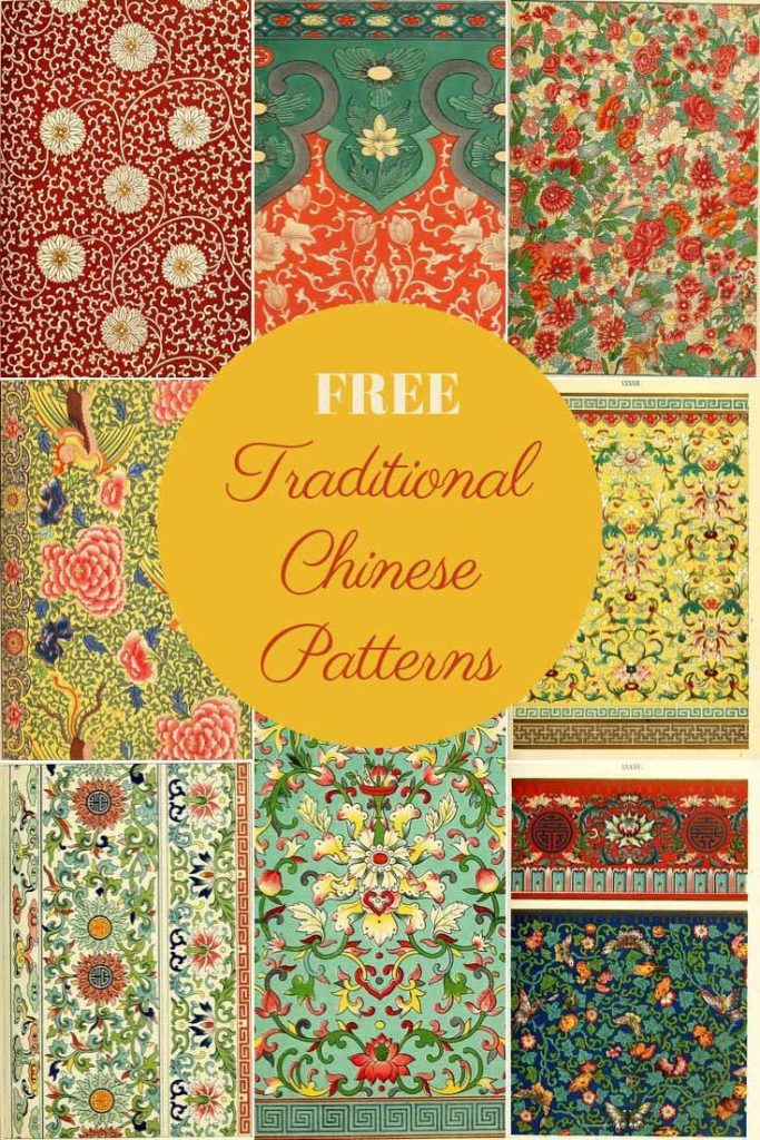Traditional Chinese patterns