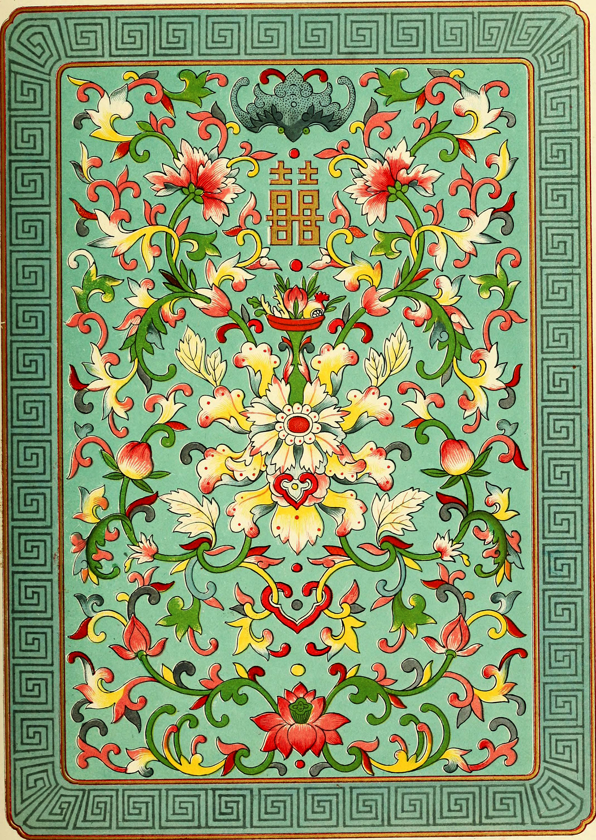 Free Colorful Traditional Chinese Patterns To Download Picture