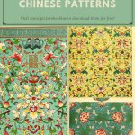 Free printable traditional Chinese Patterns