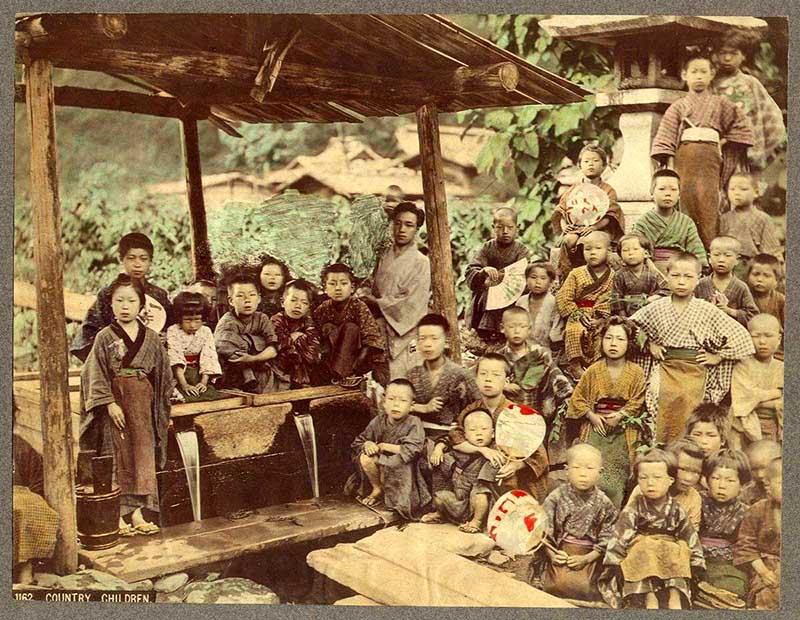 Country_Children_Kusakabe_Kimbei