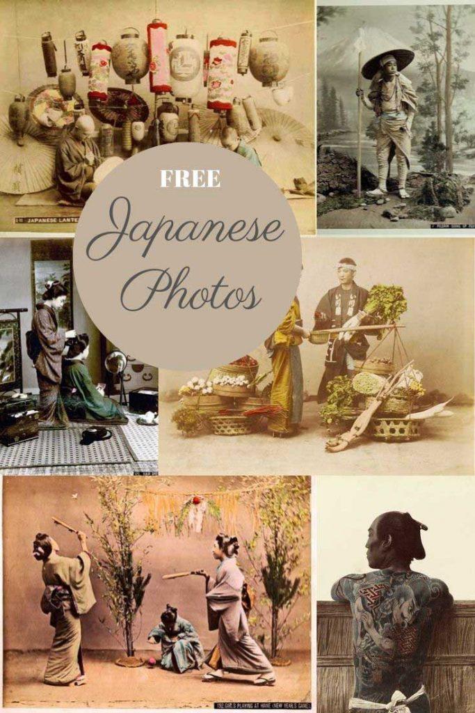 Colourized vintage Japanese Photos by Kusakabe Kimbei