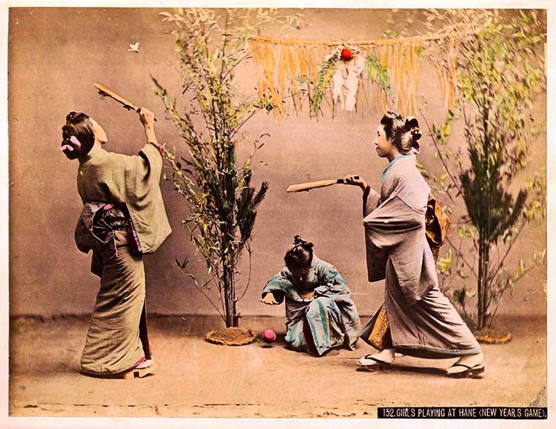 Old colourised Japanese photos.