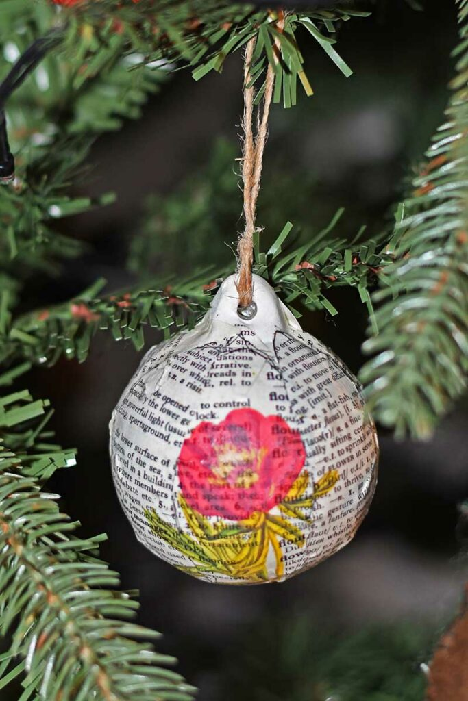 Dictionary bauble