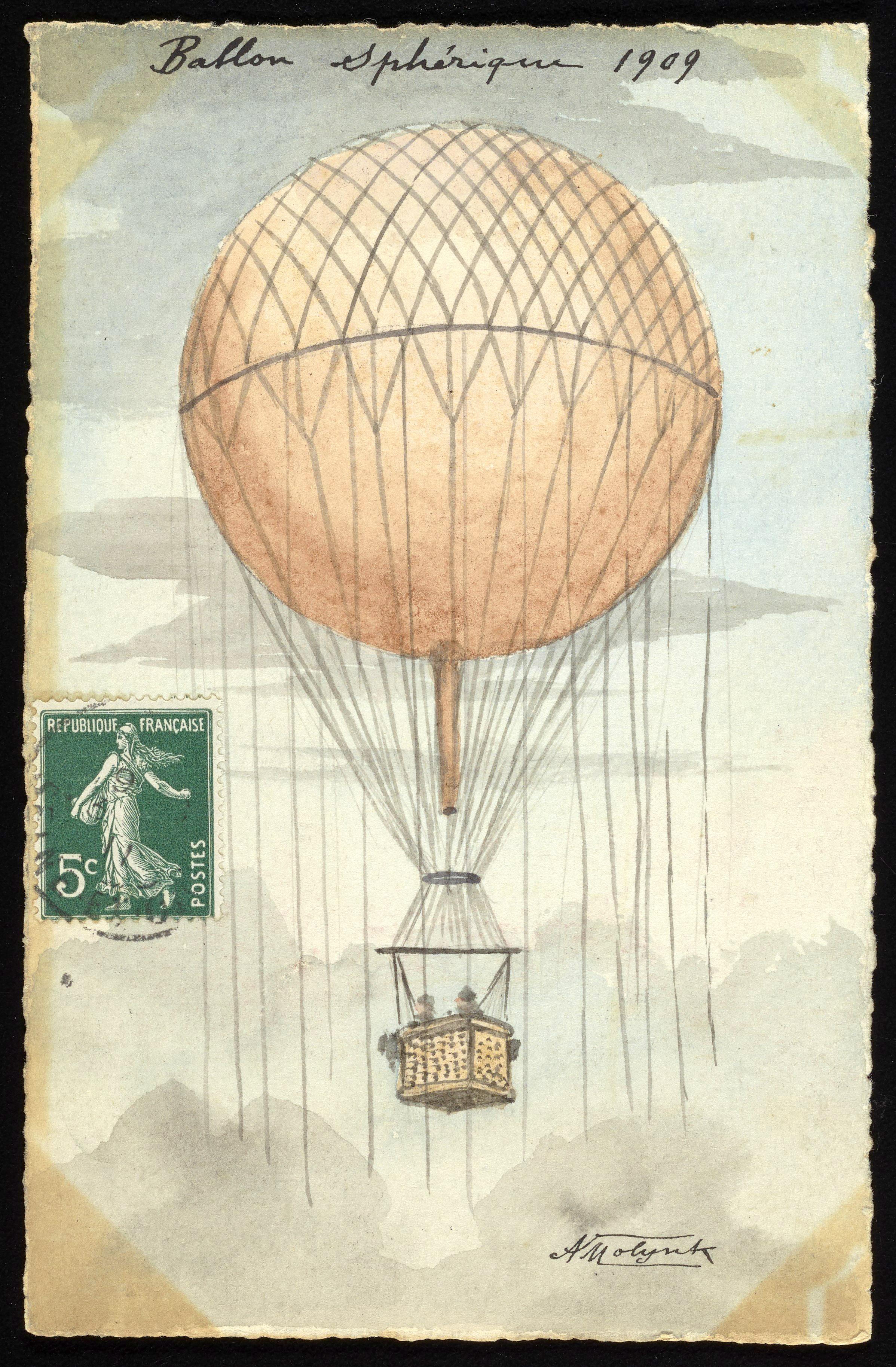 винтажные картинки с воздушными шарами должность