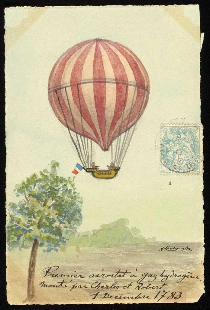 fist Hot Air Balloon flight