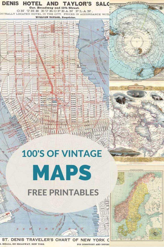 Free antique maps