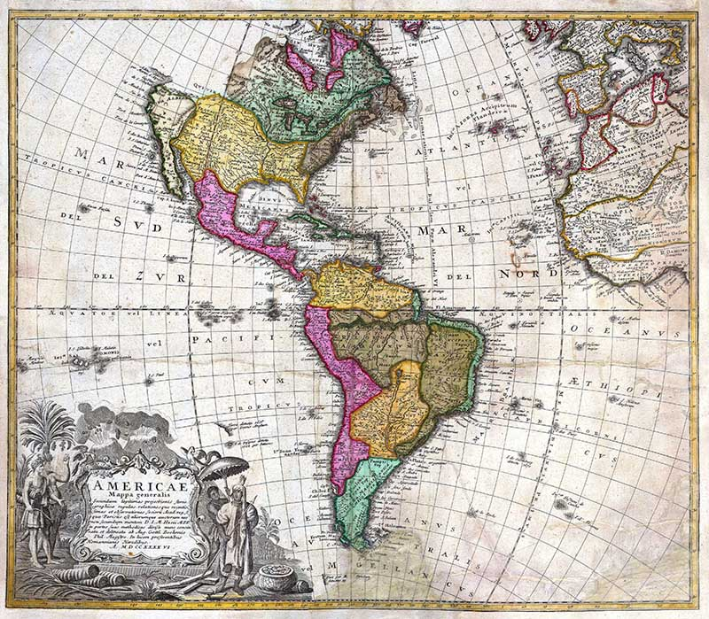 1746_Homann_Heirs_Map_of_South_^_North_America