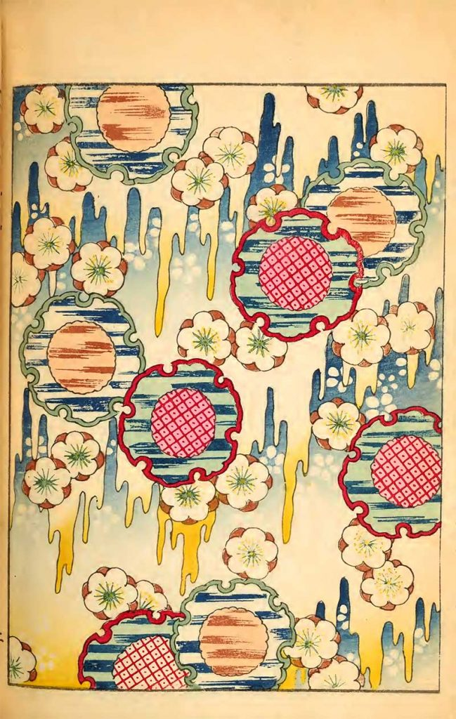Blossom and patterned flowers