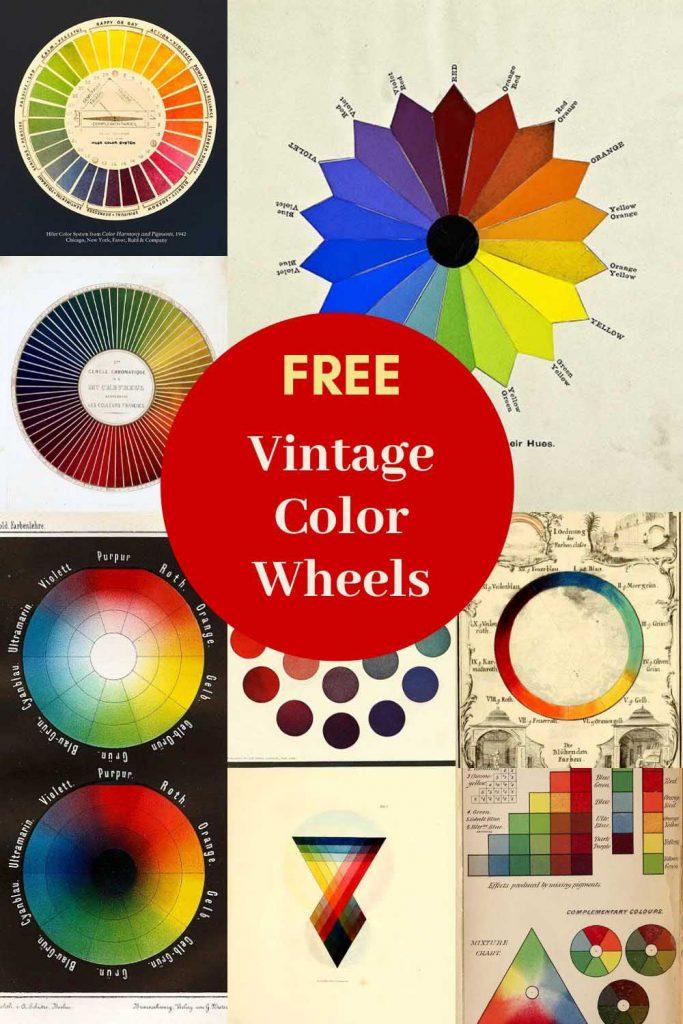 vintage color wheels