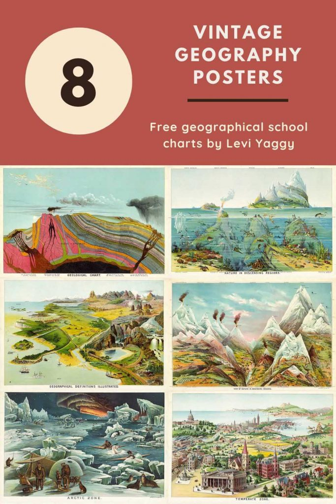 8 classroom charts for geography