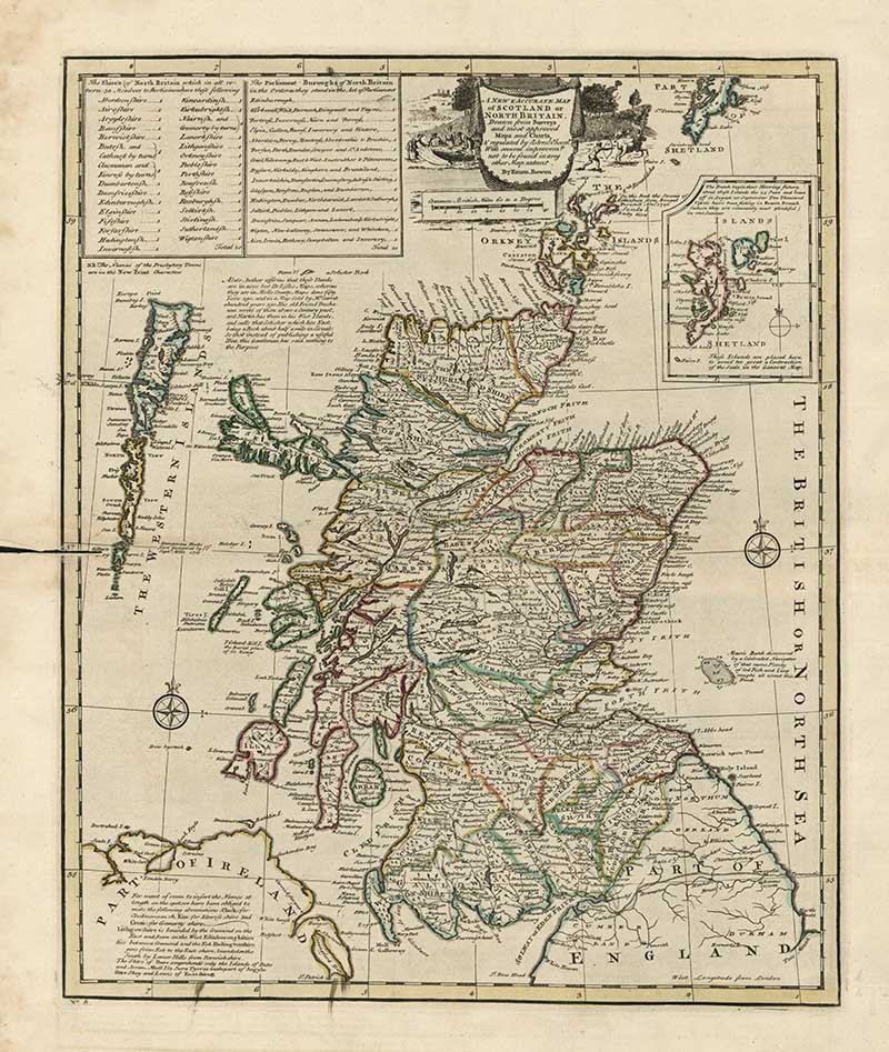 old maps of Scotland