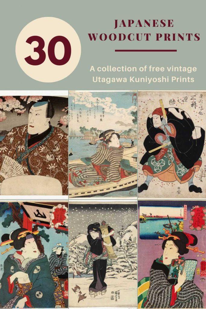 30 Free Utagawa Kuniyoshi prints