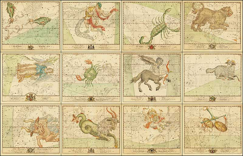 All Zodiac Charts of john Bevis