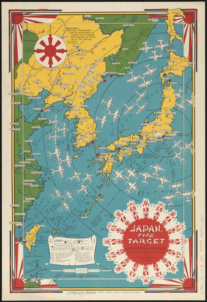 1943 Japan The Target