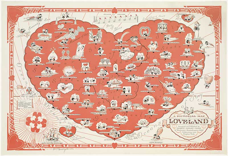 Pictorial Map of Loveland