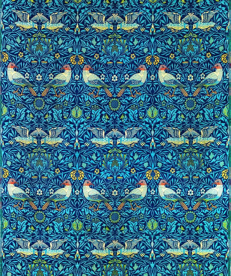 Birds Pattern William Morris