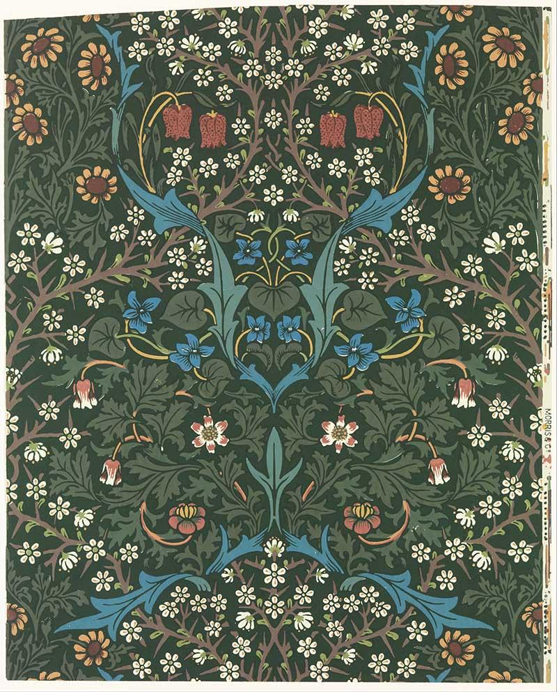 William Morris Designs blackthorn