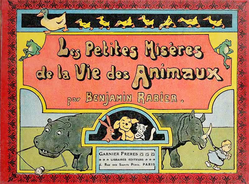 Front cover of Animal Illustrations book