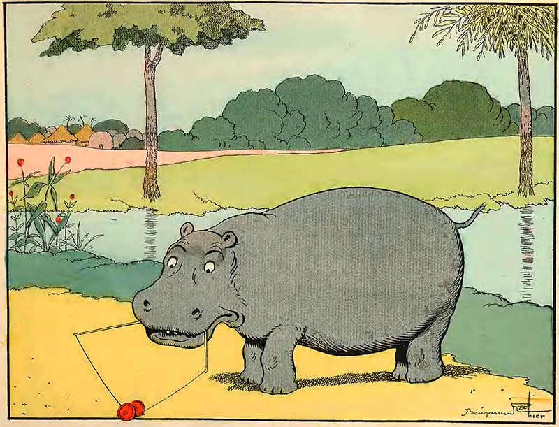 The Embarrassed Hippopotamus