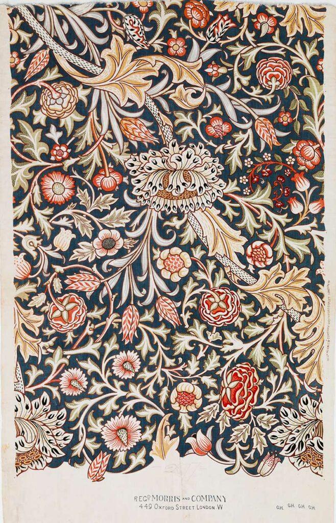 Trent flower pattern