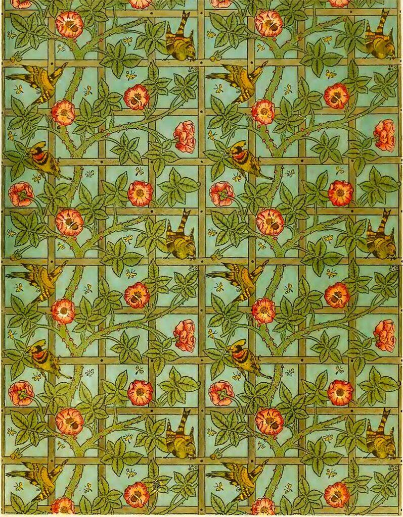 trellis William Morris