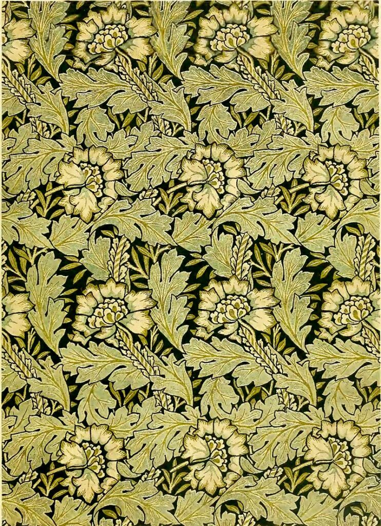Anemone William Morris Pattern
