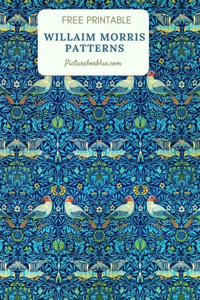 William_Morris_Birds_Pattern