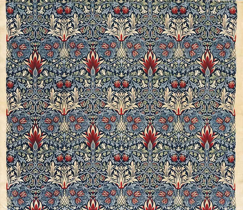 William Morris Patterns snakeshead design