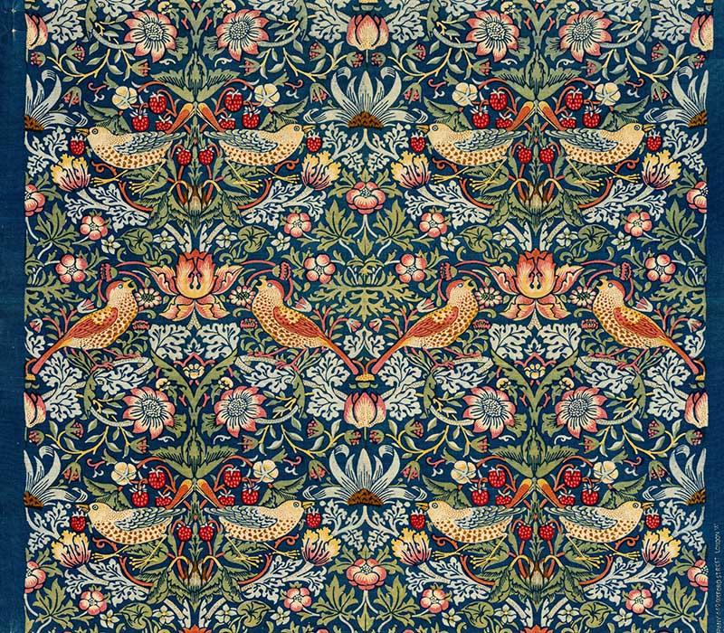 Strawberry Thief William Morris Pattern
