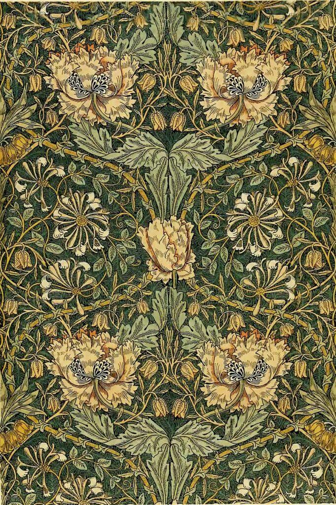 Honeysuckle William Morris
