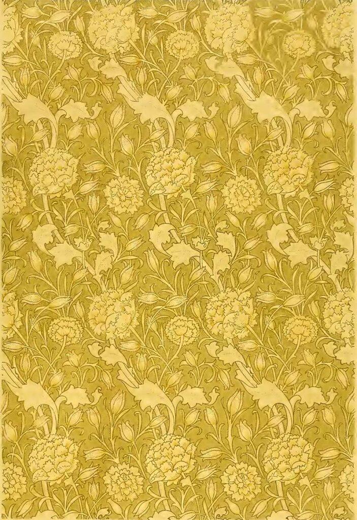 Tulip flower Pattern William Morris