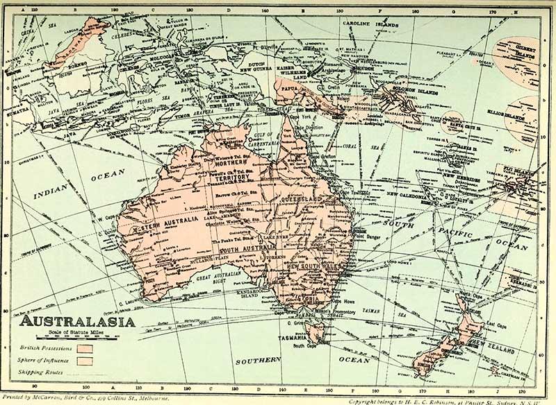 Australasia 1914