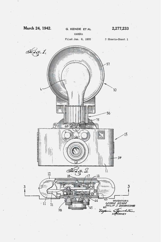 Flash Camera retro patents