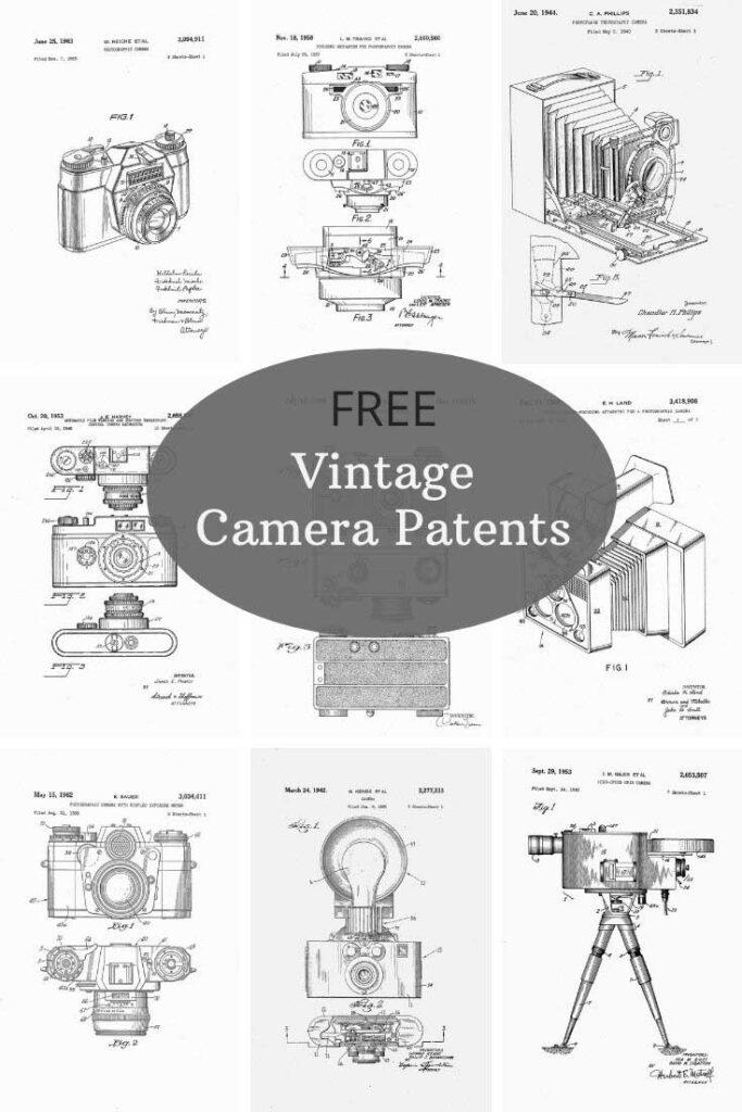 free-vintage-camera-patent-prints