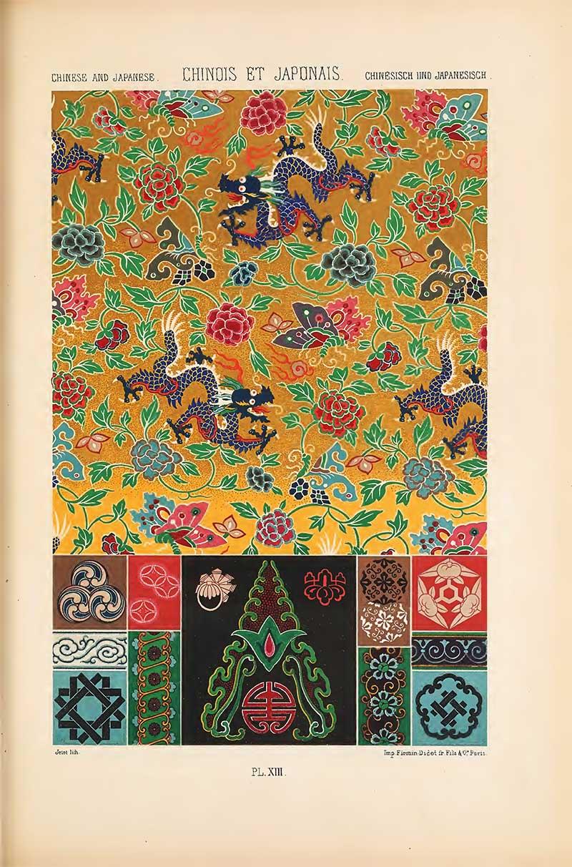 Albert Racinet Chinese Japanese Silks
