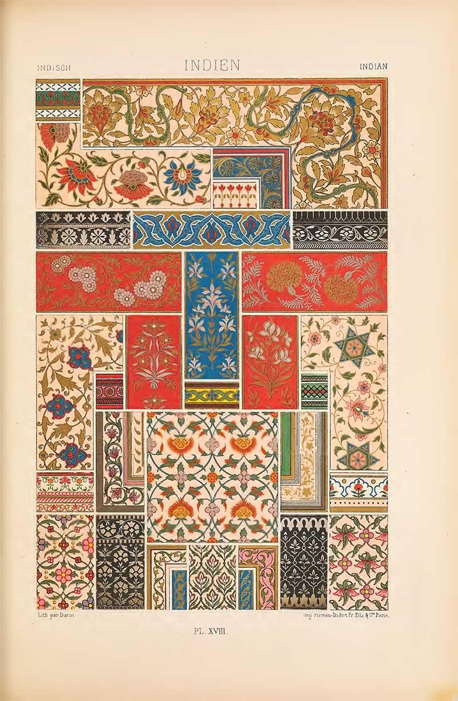 Indian Polychrome art