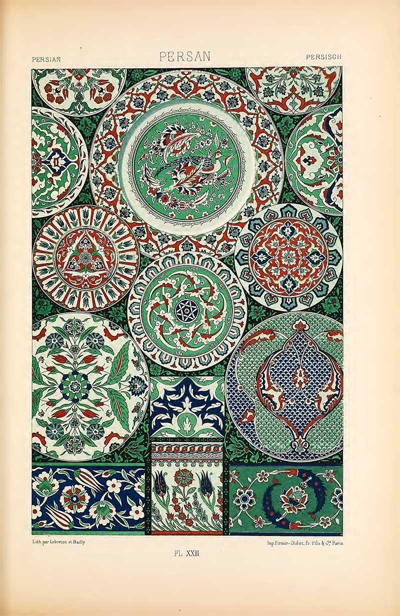 Persian Earthenware