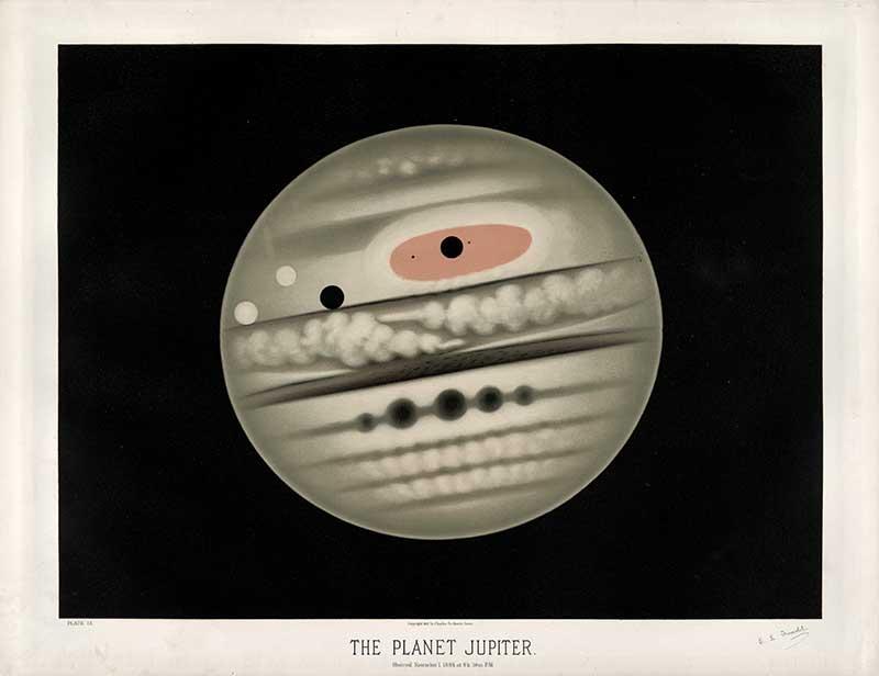 Trouvelot Jupiter