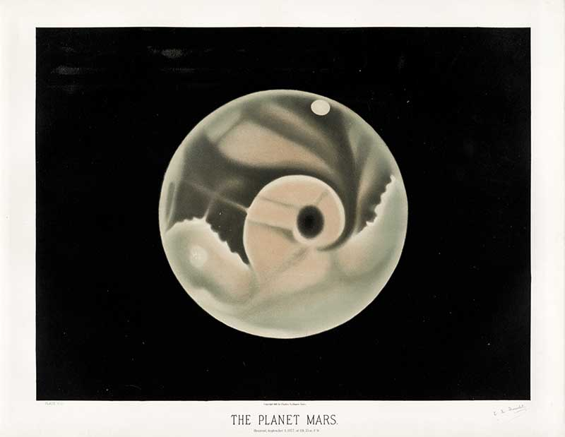 Trouvelot_-_The_planet_Mars