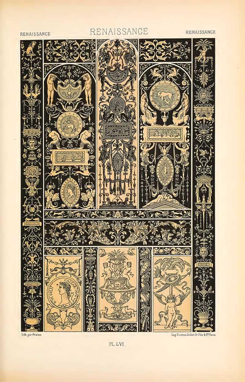 Renaissance Ivories L'Ornement Polychrome