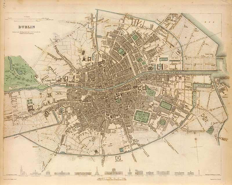 1832-vintage-map-of-Dublin