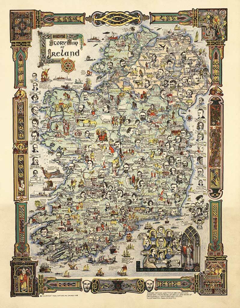 Story Map of Ireland